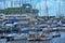 Stock Image : Yachts on the quay Tallinn