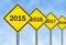 Stock Image : Year Ahead