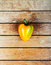 Stock Image : Yellow bell pepper