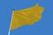 Stock Image : Yellow Flag