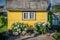 Stock Image : Yellow house