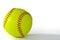Stock Image : Yellow Softball
