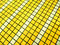 Stock Image : Yellow and White Mosaic tiles