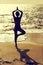 Stock Image : Yoga pray