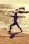 Stock Image : Yoga Warrior