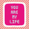 Stock Image : You are my life2