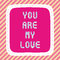 Stock Image : You are my love2