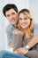 Stock Image : Young Couple Smiling