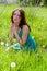 Stock Image : Young woman praying