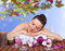 Stock Image : Young woman in a spa