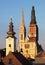 Stock Image : Zagreb, cathedral in Croatia