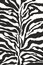 Stock Image : Zebra print