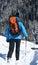 Stock Image : Zima trekking