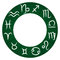 Stock Image : Zodiac icons. Vector illustration.