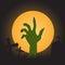 Stock Image : Zombie hand