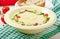 Stock Image : Zucchini cream soup