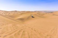  transnational de ¼ de travelï de désert images stock