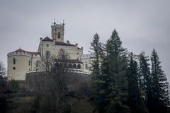  för TrakoÅ ¡ Ä en slott Arkivfoto