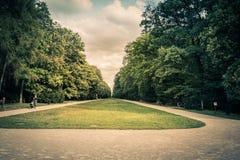 """ d'""""Star†de parc et de château sur la montagne blanche à Prague, République Tchèque Image libre de droits"""