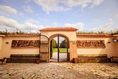 """ d'""""Star†de parc et de château sur la montagne blanche à Prague, République Tchèque Photos libres de droits"""