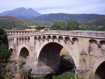 """ do vecchio†do ponte do """"il na floresta de Aïtone Imagens de Stock"""