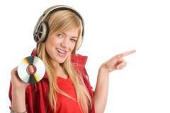 ¡Ésta es mi música! Foto de archivo