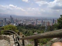 ¡ De de Bogotà de ciudad de vue photo stock
