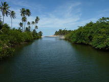 ¡ de Jequià de lac Photos libres de droits