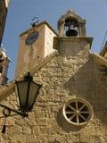 ¡ De OmiÅ - cidade de Almissa na Croácia situada no Adriático Fotos de Stock Royalty Free