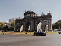 ¡ De Puerta de AlcalÃ, à Madrid photos stock