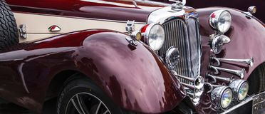 ¡ H för bil HORÐ 850 1936-1940 år av produktion royaltyfria bilder