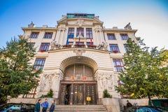 ¡ Marian Squares Marià nské nà ¡ mÄ› stà in der alten Stadt Prags, Tschechische Republik Stockfotos
