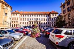 ¡ Marian Squares Marià nské nà ¡ mÄ› stà in der alten Stadt Prags, Tschechische Republik Lizenzfreies Stockfoto
