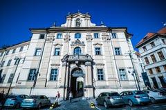 ¡ Marian Squares Marià nské nà ¡ mÄ› stà in der alten Stadt Prags, Tschechische Republik Stockbild
