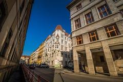 ¡ Marian Squares Marià nské nà ¡ mÄ› stà in der alten Stadt Prags, Tschechische Republik Stockfotografie