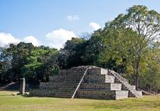¡ Maya n, Honduras di Copà della piramide Immagini Stock Libere da Diritti