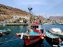 ¡ N Puerto de Mogà стоковая фотография rf