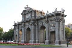 ¡ Puerta de Alcalà в Мадриде стоковые изображения rf