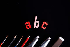 ¡ABC! Fotos de archivo