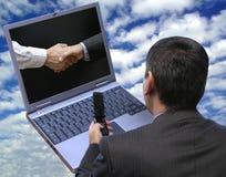 ¡Acuerdo definitivo global!! fotografía de archivo libre de regalías