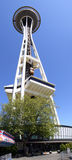 ¡Aguja del espacio de Seattle - mirando para arriba! Fotos de archivo libres de regalías