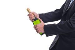 ¡Aquí viene más vino! Imagen de archivo libre de regalías