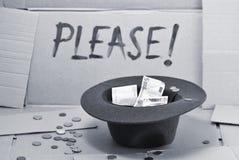 ¡Ayuda, por favor! Fotografía de archivo