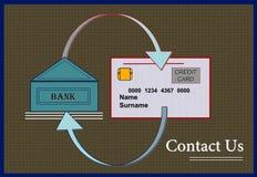 ¡Bancos fiduciarios!!! ilustración del vector