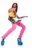 ¡Bebé del rock-and-roll! Fotografía de archivo