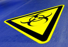 ¡Bio peligro! Fotos de archivo