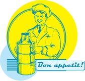 ¡Bon Appetit! Imagenes de archivo
