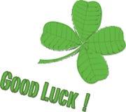 ¡Buena suerte! Imagen de archivo