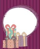 ¡Buenas fiestas! Stock de ilustración
