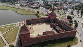 ¡Castillo de Gedemin en Lida! ¡Bielorrusia! metrajes